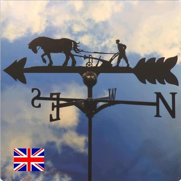 Horse & Plough Weathervane