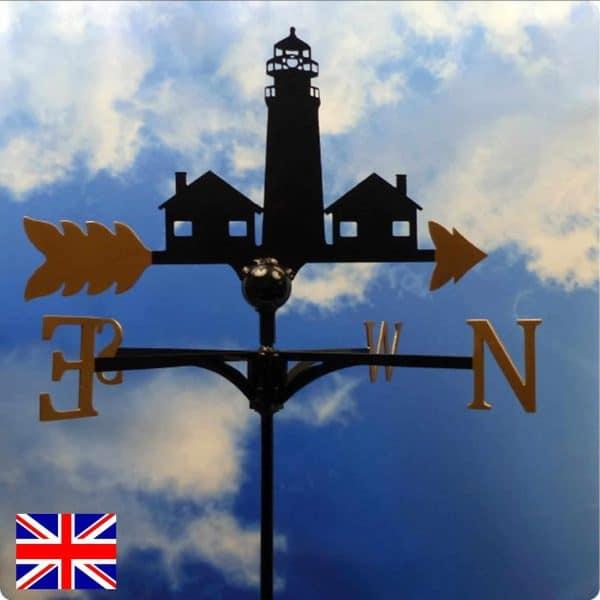 Happisburgh Lighthouse Weathervane Gold