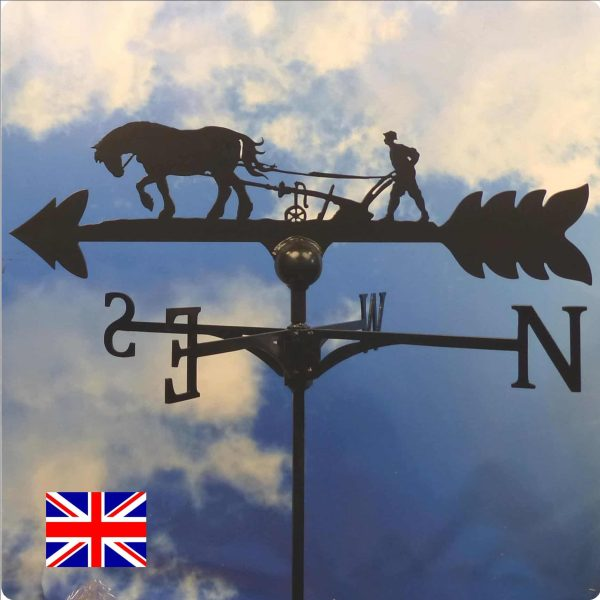 Horse & Plough Weathervane