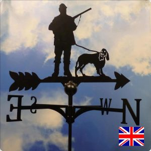 Shooter & Spaniel Weathervane