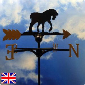 Heavy Horse Gold Weathervane