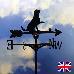 Labrador and Ball Weathervane