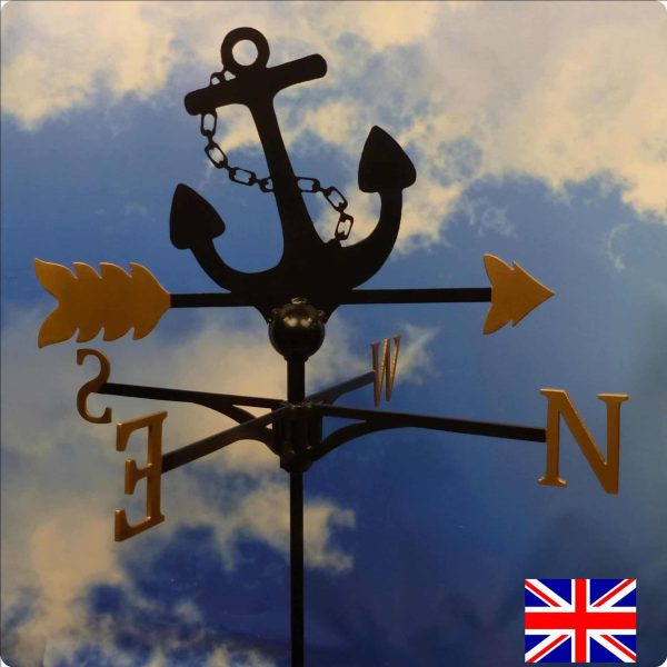Anchor Gold Weathervane