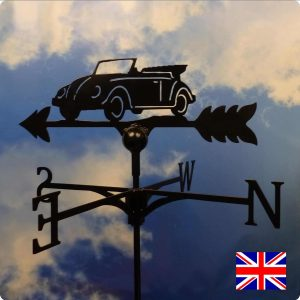 VW Convertible/Ragtop Weathervane