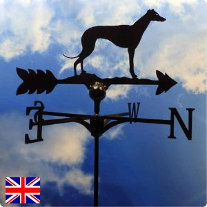 Standing Greyhound Weathervane
