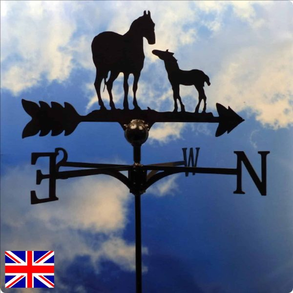 Horse and Foal Weathervane