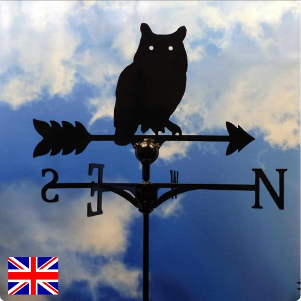 Traditional Owl Weathervane