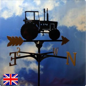Tractor Weathervane Gold