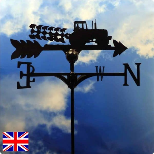 Tractor and Plough Weathervane