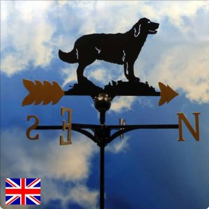 Retriever Weathervane Gold