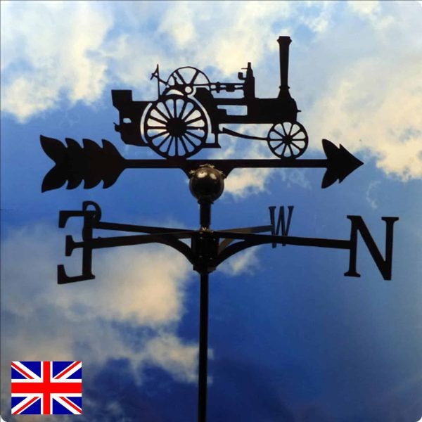 Marshal Steam Engine Weathervane