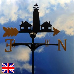 Happisburgh Lighthouse Weathervane Gold