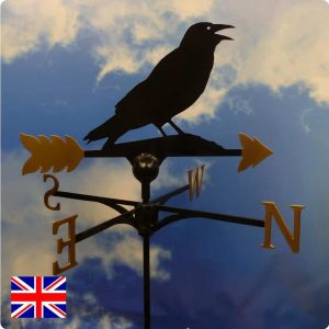 Rook Weathervane Gold